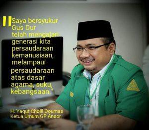 Sebuah Pesan Natal dari Ketua Umum PP GP Ansor