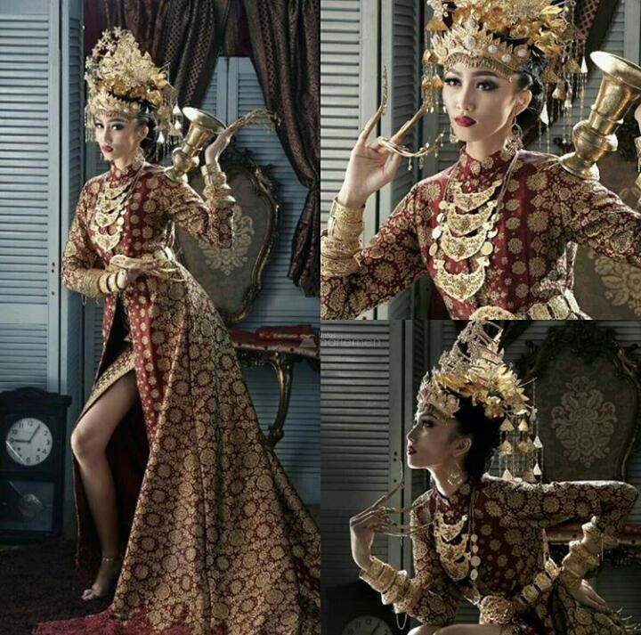 Kostum Puteri Sumsel 2017 yang menuai kontroversi